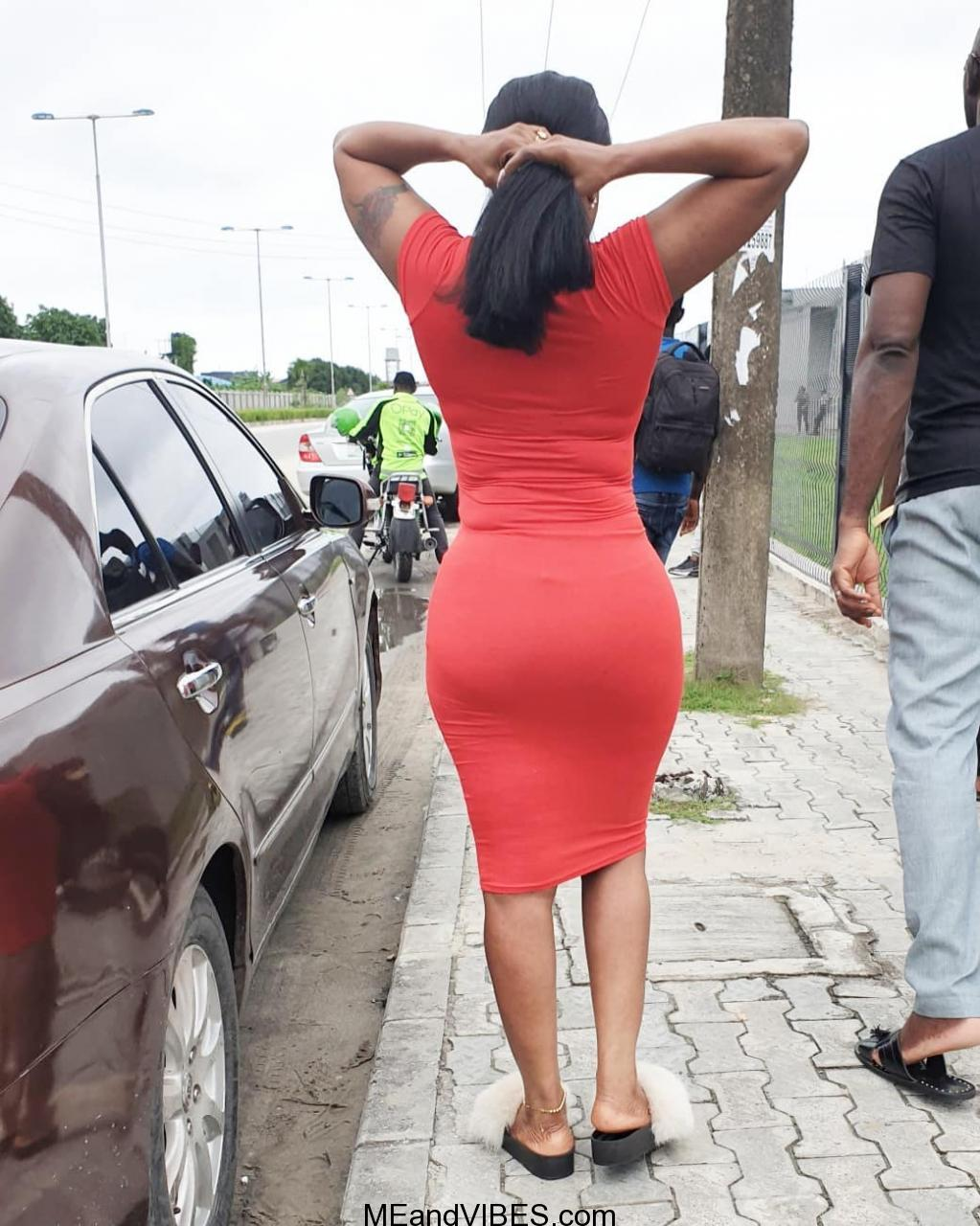Actress, Iyabo Ojo shows off her hot shape in figure-hugging dress (Photos)