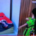 #BBNaija: Moment Tacha began spraying perfume on herself after being told she has body odour (video)