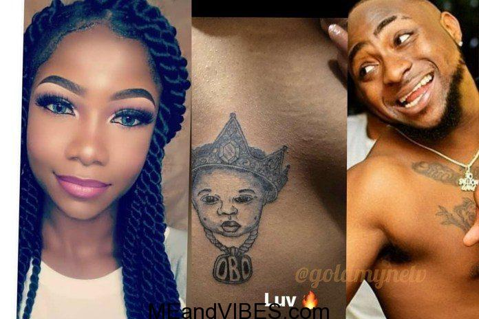 #BBNaija,Davido Supports Mercy, Ditches And Denies Tacha for Mercy