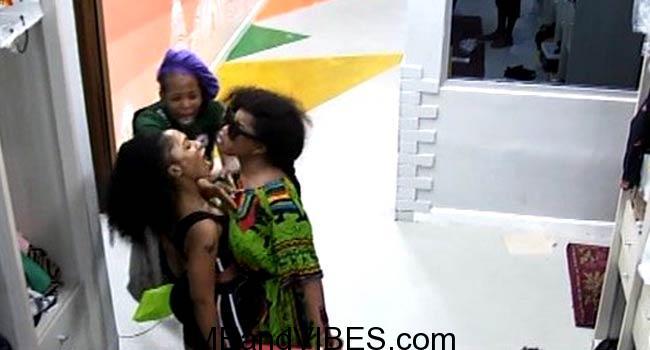 BREAKING: Tacha Disqualified From #BBNaija (See Shocking Reason) Video + Photos