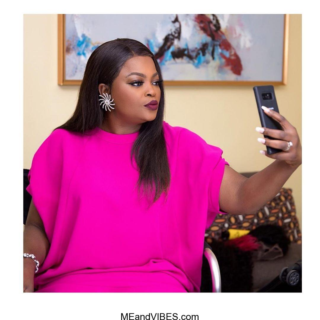 Funke Akindele cracks fans up with her 'gym' photos