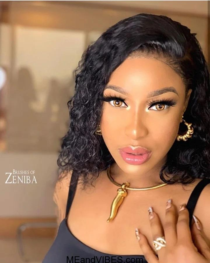 Tonto Dikeh lashes out at Nigerian youths who protested against Bobrisky
