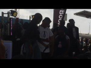 VIDEO: Tiwa Savage, Poco Lee, DJ Enimoney in Zanku Dance Battle