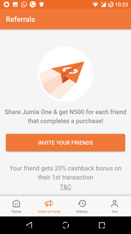 How Earn N1000 & N500 Cash For Each Person You Invite To Download #Jumia One App