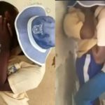 Lagos Secondary School Students Caught Having S€x And Making out in classroom (video)