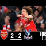 Arsenal vs Crystal Palace 2-2 All Goals & Highlights