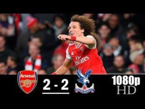 Arsenal vs Crystal Palace 2-2 All Goals & Highlights
