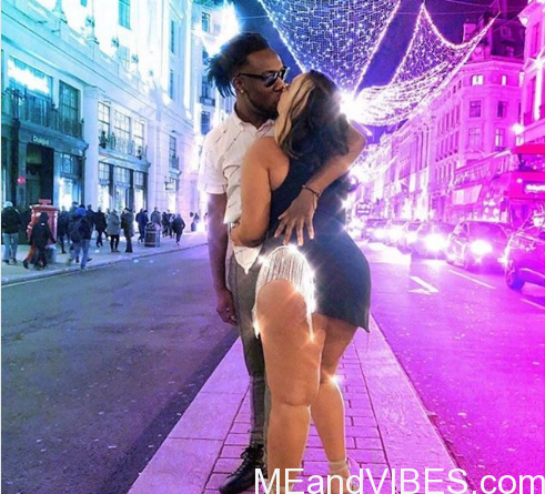 Burna Boy, Stefflon Don Share Passionate Kiss On Street Of London