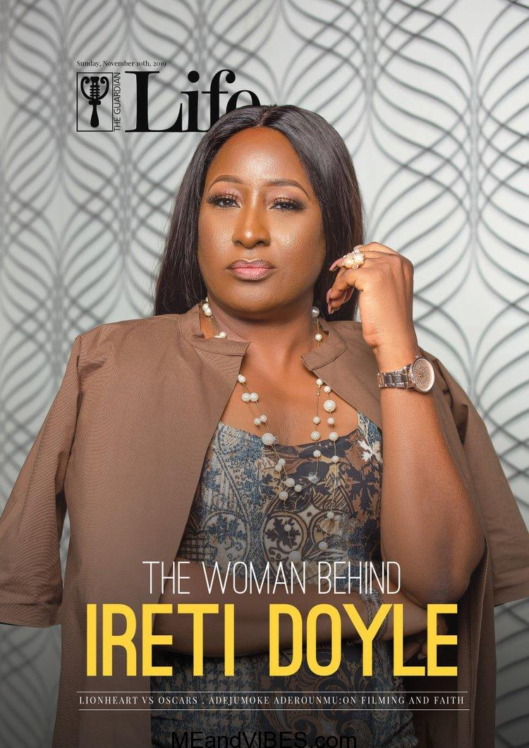 Ireti Doyle covers Guardian Life's Latest Issue