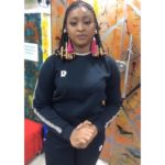 Actress, Etinosa apologises to Nigerians for using a bible as an ashtray
