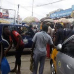Aggrieved Ghanaian traders lock up over 600 Nigerian shops