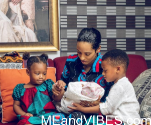Mavin Record Singer, Aphrodija Welcomes 3rd Child