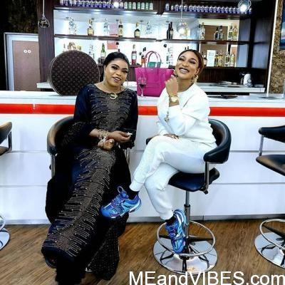 Tonto Dikeh And Bobrisky Celebrate 4 Years Of Friendship