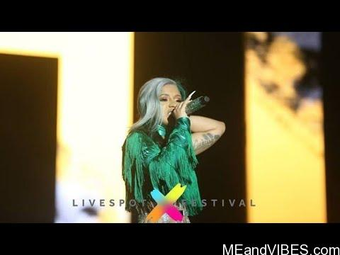 VIDEO: Cardi B's Live Performance In Lagos, Nigeria [Livespot Festival 2019]