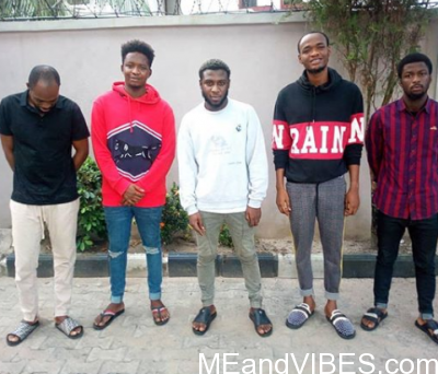 Yahoo Boys Pose For The Cameras After Court Hearing