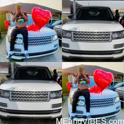 Zlatan Ibile Acquires A New Range Rover SUV worth N33M To Mark His 25th Birthday