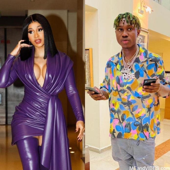 Zlatan Ibile And Cardi B Exchange Numbers For A Possible Collaboration