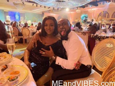 Davido Grabs Chioma's Bossom At His Brother's Wedding In Dubai