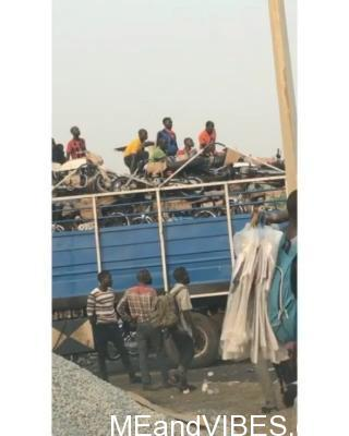 LAGOS, ONIRU, TODAY: Following the ban of Okada in Lagos, our Hausa brothers are leaving Lagos to start life somewhere