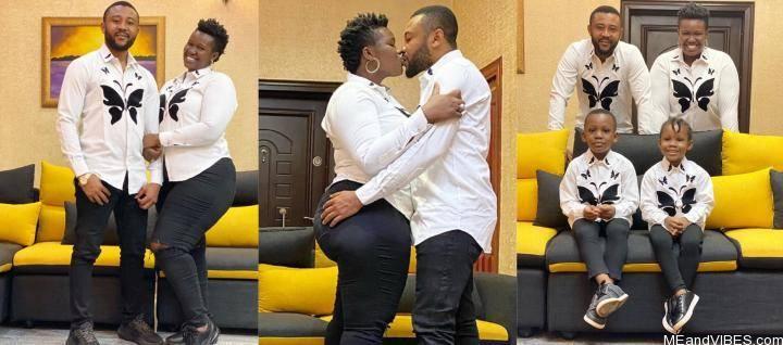 Popular Comedian Real WarriPikin Celebrates 7 Years Wedding Anniversary, See Adorable Photos