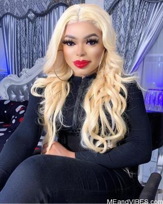 Bobrisky's bleaching has become excessive (Photo)