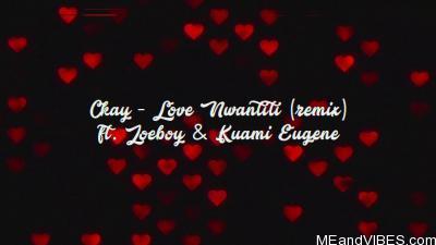 Lyrics Video: CKay - Love Nwantiti Remix ft. Joeboy & Kuami Eugene