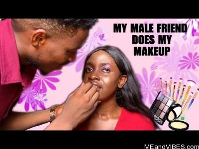 VIDEO: Gab With Jane – My Male Friend Does My Make Up (Hilarious | Self Isolation Saga)