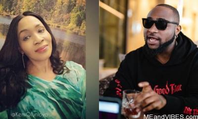 """You killed your 3 friends"" – Kemi Olunloyo accuses Davido?"