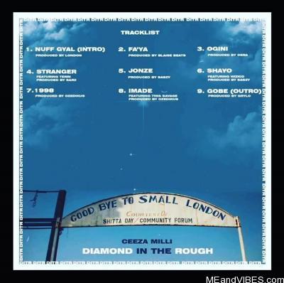 Album: Ceeza Milli – Diamond In The Rough (EP)