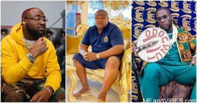 """Davido Is The Real Odogwu, Not Burna Boy"" – Cubana Chief Priest"