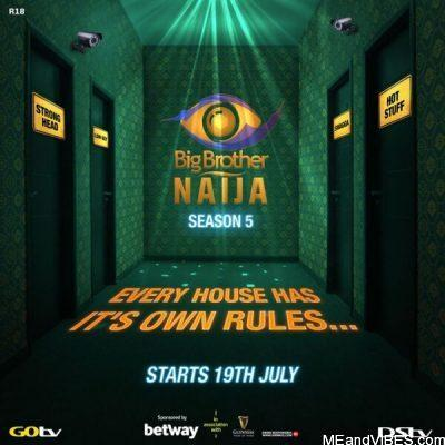 Big Brother Naija Season 5 Starts On 19th July 2020