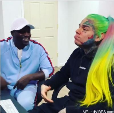6ix9ine & Akon – Locked Up Part 2