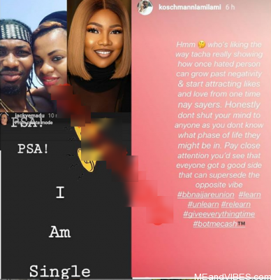 Ex BB Naija Housemate, Jackye And Long Time Boyfriend, Lami Kosemani Breaks Up & Part Ways