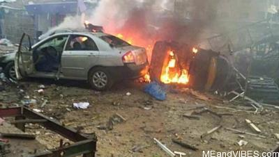 How gas explosion killed 2 people, destroyed 9 shops in Ajao Estate