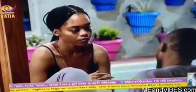 BBNaija 2020: Lilo And Eric Discuss Their Relationship In Other Not To End In An ENTANGLEMENT (Video)