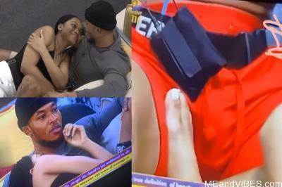 "BBNaija: Lilo Caught On Camera Trying To Measure Eric's ""Cassava"" (VIDEO)"