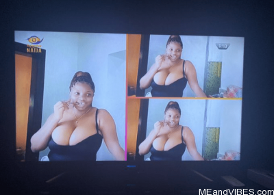 #BBNaija: Photos Of BBNaija Dorathy Bachor And Her Tangerine That's Causing Commotion Online