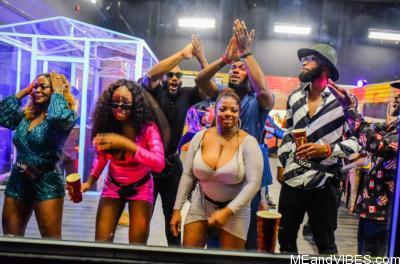 #BBNaija: Beautiful Photos from the FIRST Saturday Night Party.