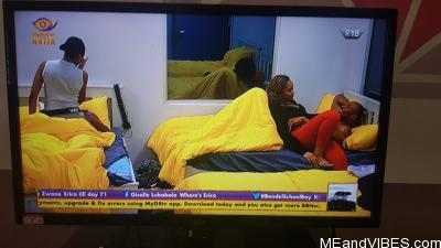 #BBNaija2020: Eric & Lilo, Vee & Neo finally mend their broken relationships (Photos)