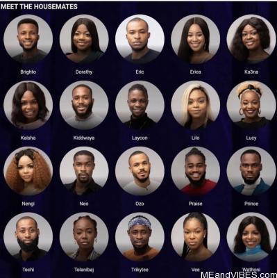 #BBNaija2020: Meet the 20 housemates for the fifth season (Photos)