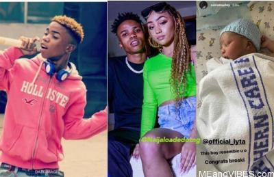 Nigerian Singer Lyta Welcomes Baby Boy With His Girlfriend