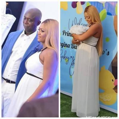 Photos from the naming ceremony of Regina Daniels and Ned Nwoko's son, Munir Neji Ned Nwoko