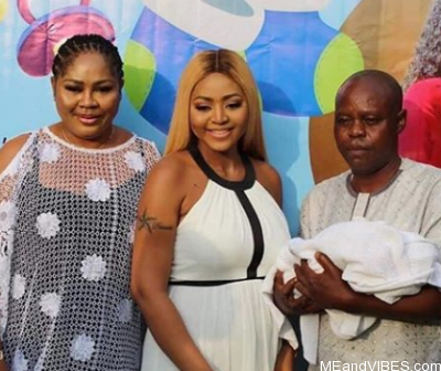 Regina Daniels' father makes peace with her billionaire hubby, Ned Nwoko