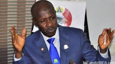 Security operatives search Magu's house