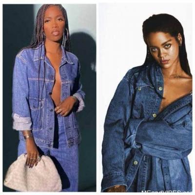 Tiwa Savage Is Really Pushing Hard For A Rihanna Collabo (Checkout)