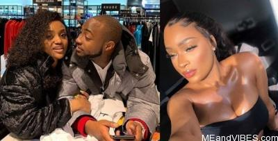 Video: Davido caught cheating on his wife chioma with Another Woman