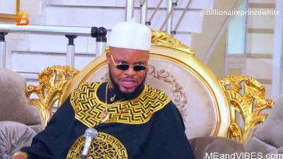 Video: Billionaire Prince White In Funny Child Blackmail