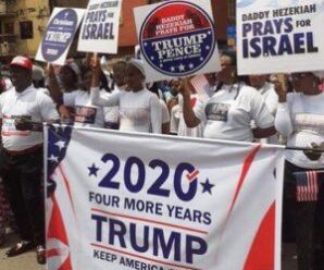 """A Great Honour!"" – President Donald Trump Reacts After Anambra State-Based Church Staged Rally for Him (Video)"