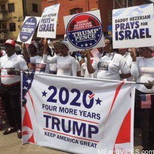 """""""A Great Honour!"""" – President Donald Trump Reacts After Anambra State-Based Church Staged Rally for Him (Video)"""