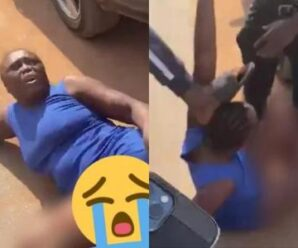 Lady Who Stole Iphone 12 In Computer Village, Ikeja Lagos Disgraced (Photos)